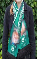 Image 4 of custom designed football scarf manufactured by Teritex